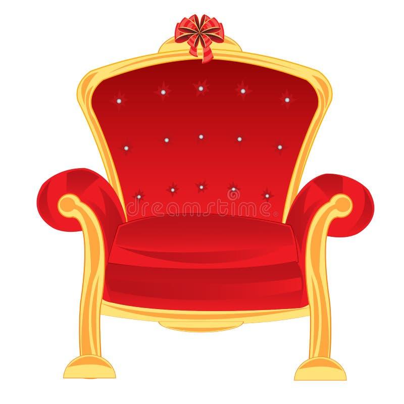 Leunstoel royalty-vrije illustratie