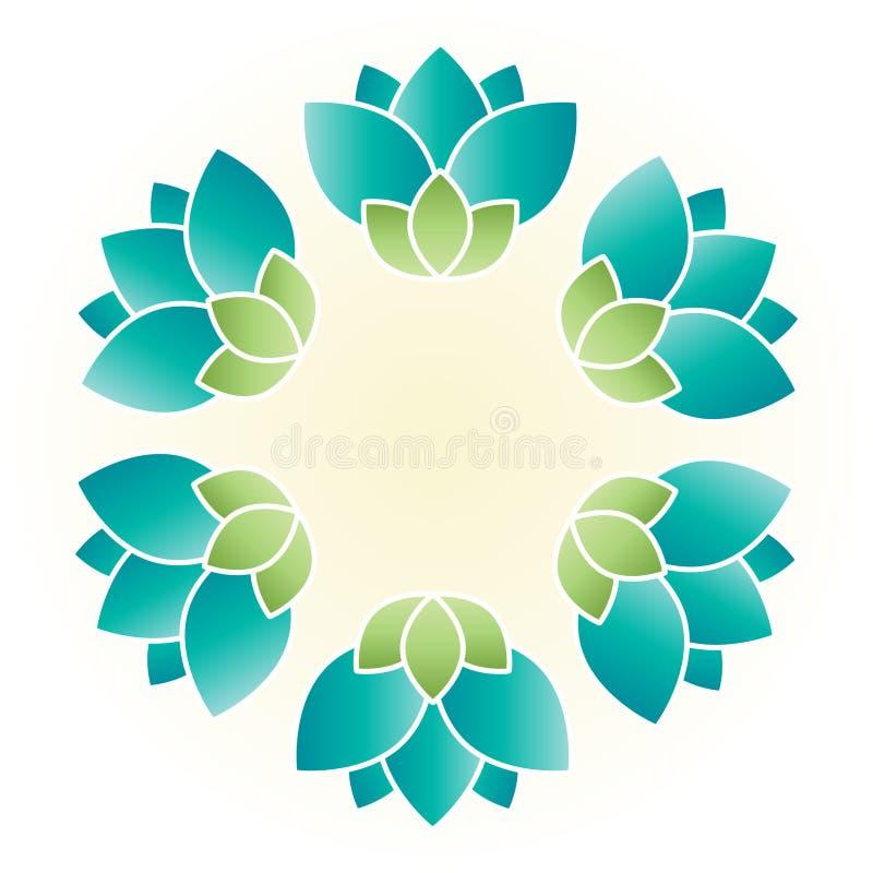 Leus da flor ilustração royalty free
