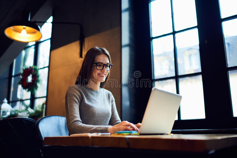 Leute bei der Arbeit lizenzfreies stockbild