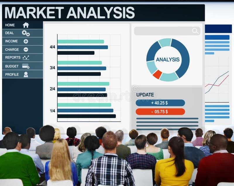 Leute-Buchführungsangabe-Analyse-Seminar-Konzept lizenzfreies stockbild
