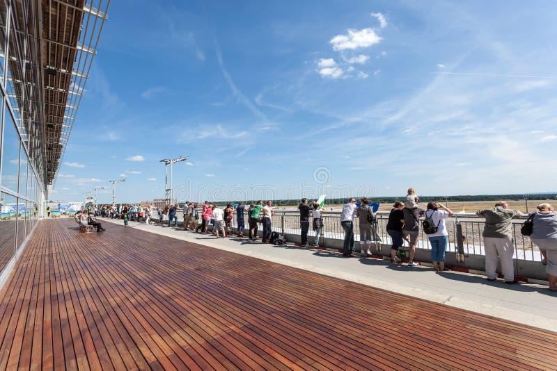 Frankfurt Flughafen Besucher
