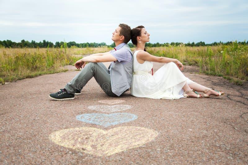 Leute in der Liebe lizenzfreie stockbilder