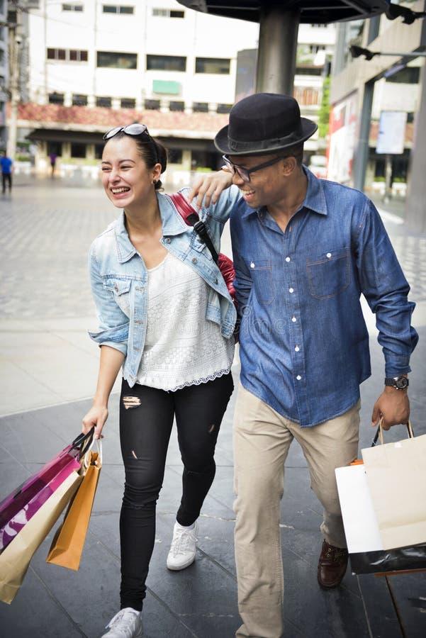 Leute-Einkaufsausgaben-Kunden-Verbraucherschutzbewegungs-Konzept lizenzfreie stockbilder