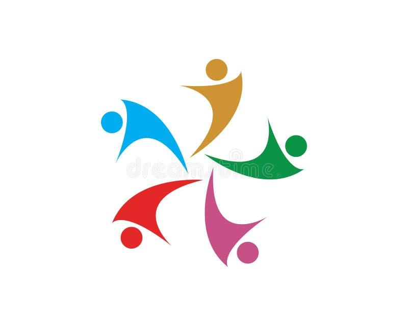 Leute-Ikonenarbeitsgruppe Vektor lizenzfreie abbildung