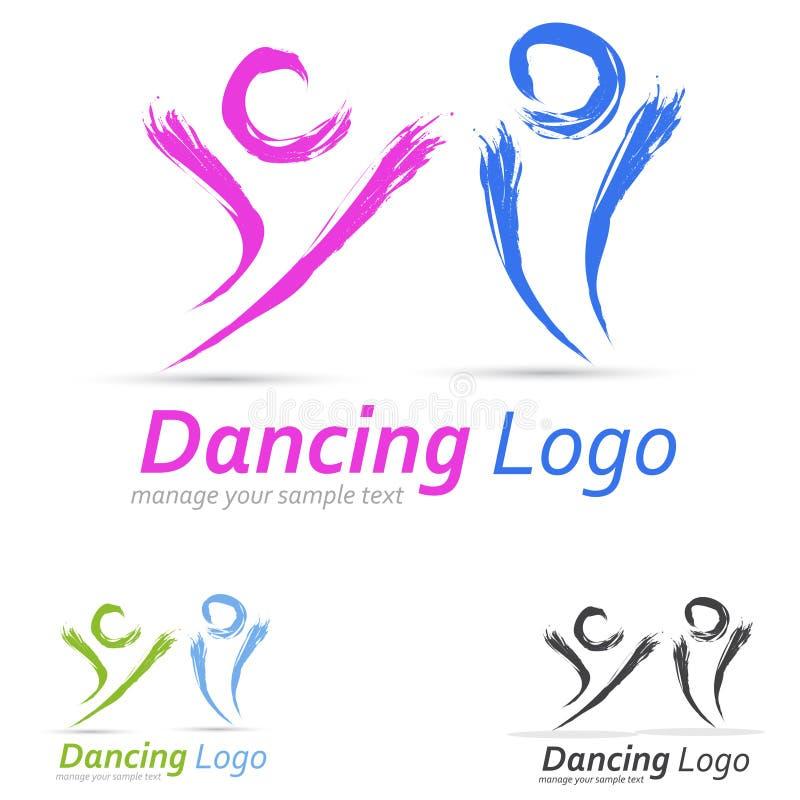 Leute-Logo stock abbildung