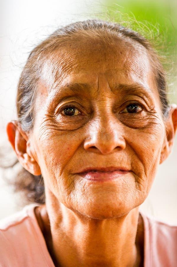 Leute in MANAGUA, NICARAGUA stockfoto