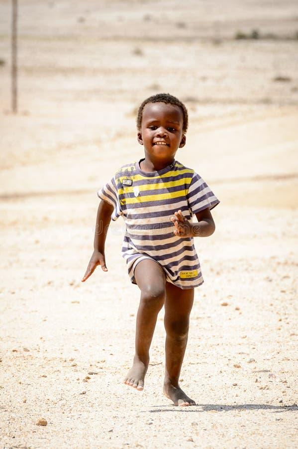 Leute in Namibia lizenzfreie stockfotos