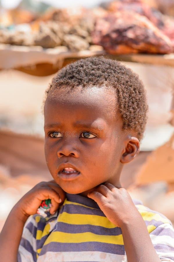Leute in Namibia stockfotos