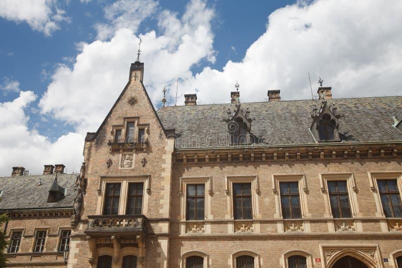 Leute ` s Galerie in Prag-Schloss stockfotos