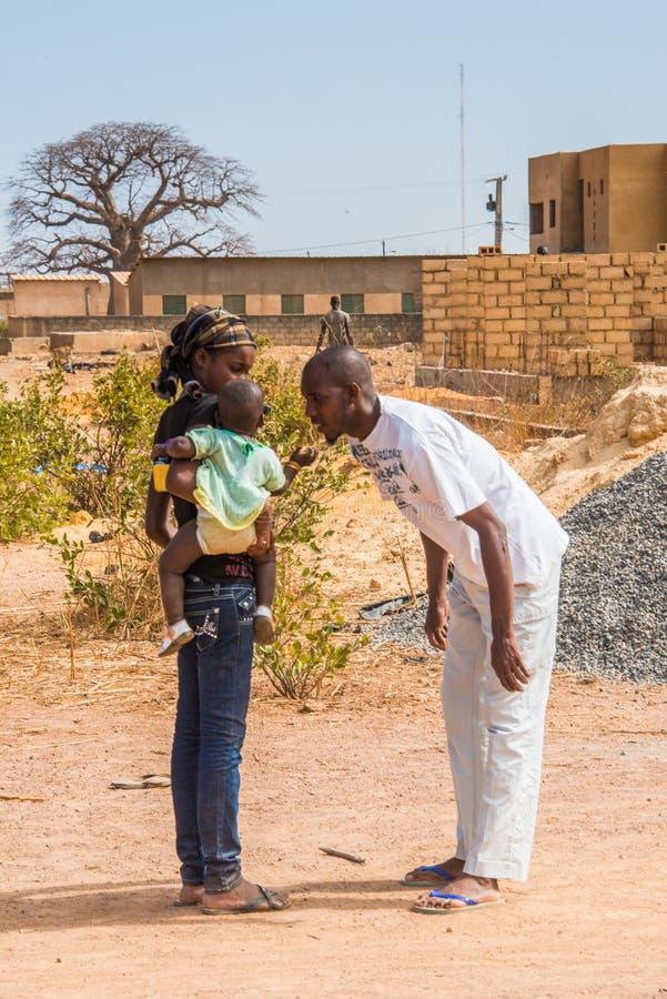 Leute in Senegal, Afrika lizenzfreie stockfotos