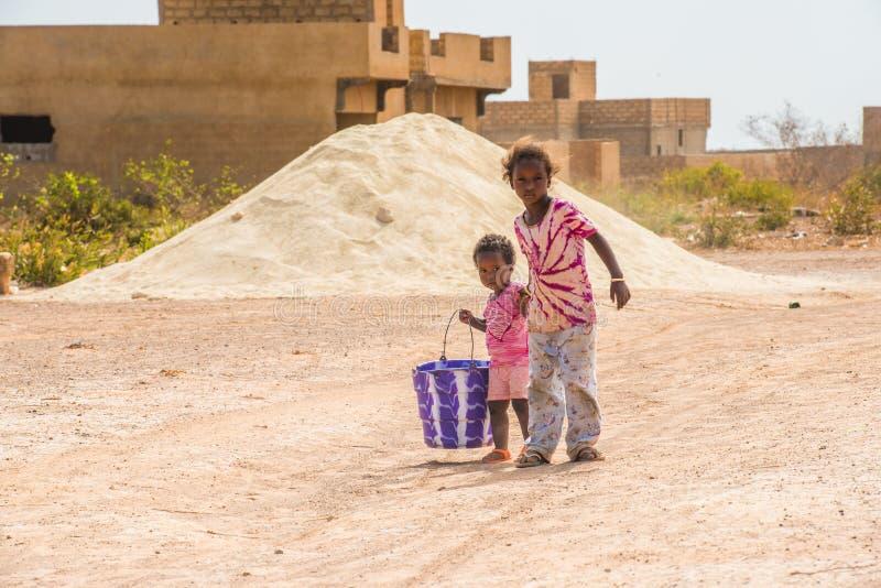 Leute in Senegal, Afrika lizenzfreies stockfoto