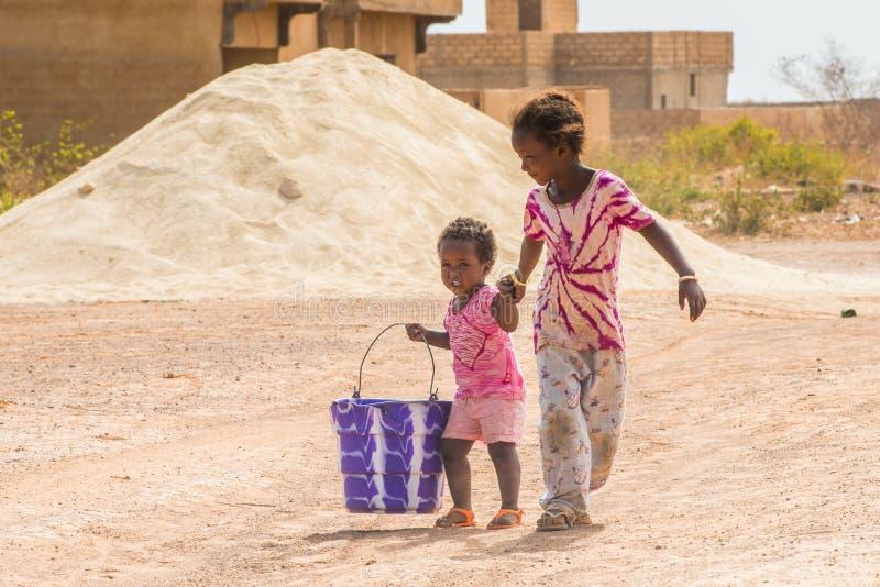 Leute in Senegal, Afrika stockfotografie