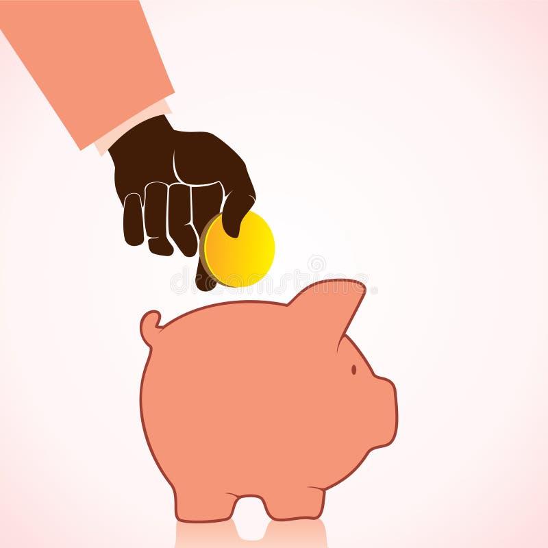 Download Leute Sparen Geld Mit Piggy Querneigung Vektor Abbildung - Illustration von holding, ablagerung: 27725428