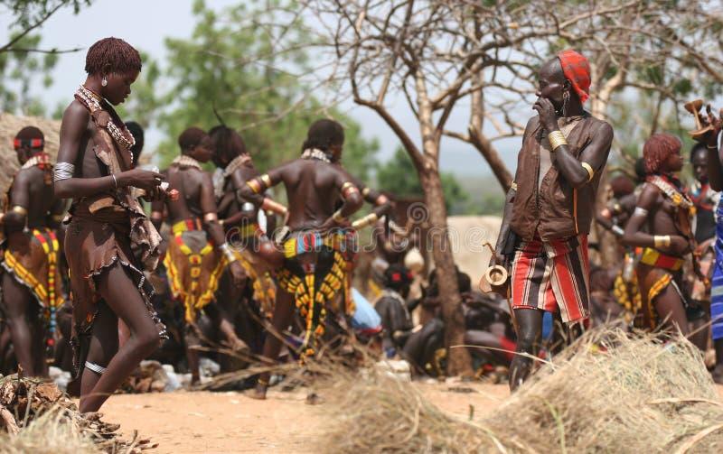 Leute von Afrika stockbild