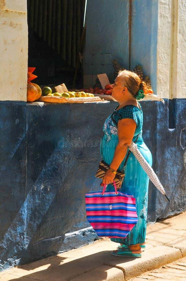 Leute von Havana lizenzfreie stockbilder