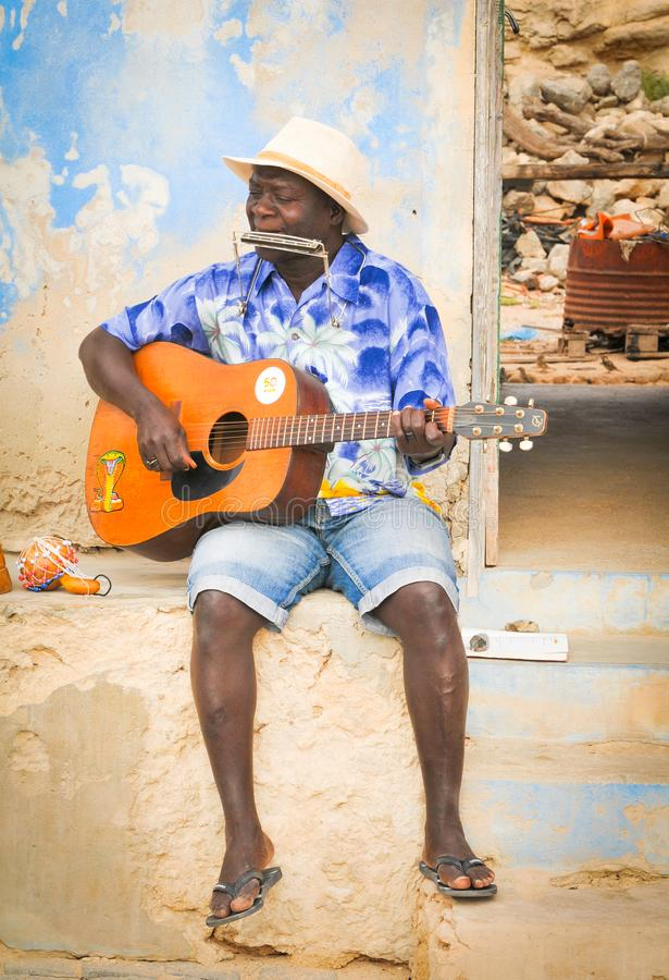 Leute von Kap-Verde, Afrika stockbilder