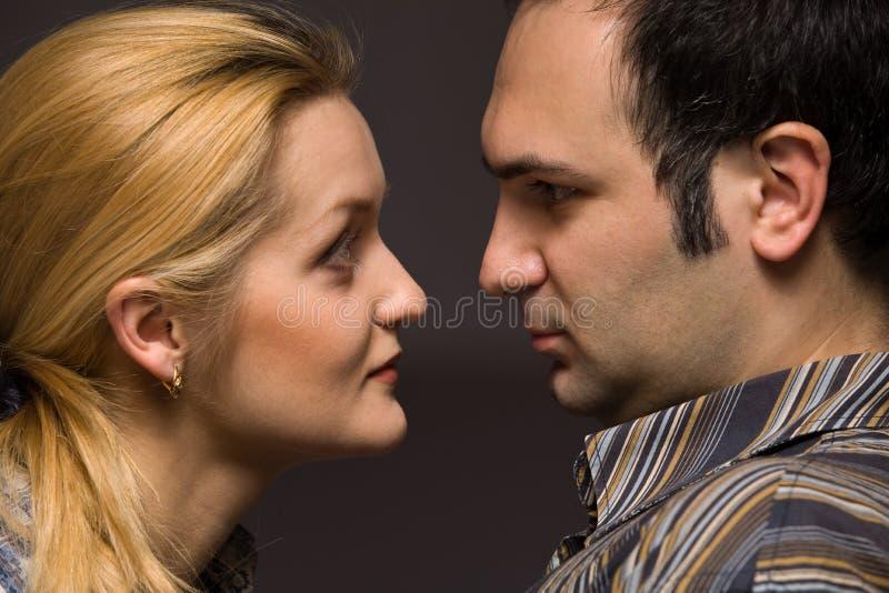 Leutepaare Stockfoto