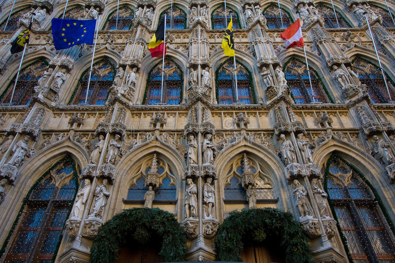 Download Leuven stock image. Image of christmas, architecture - 12300299