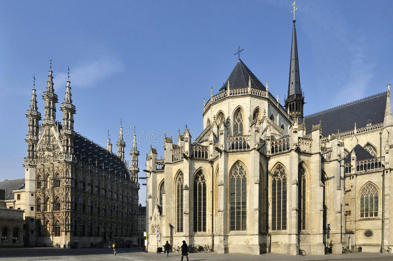 Leuven royalty free stock photography