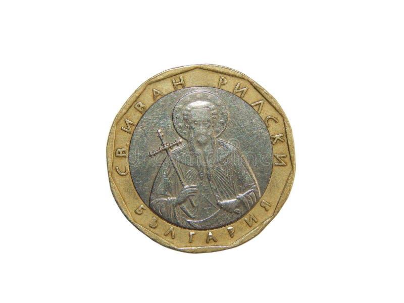 Lev Bulgarie de la pièce de monnaie 1 photographie stock