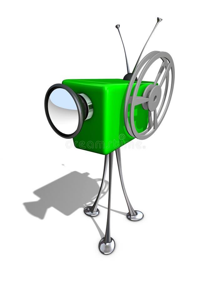 Leva cómica ilustración del vector
