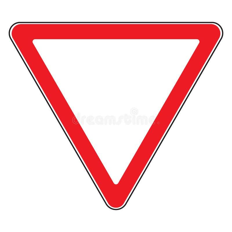 Leva o sinal ilustração do vetor