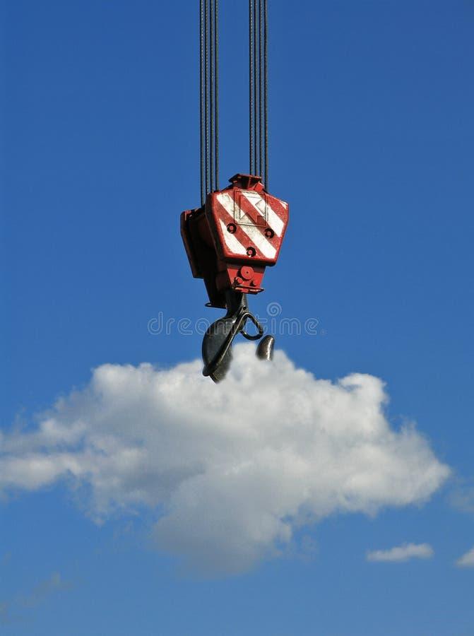 Levage du nuage images libres de droits