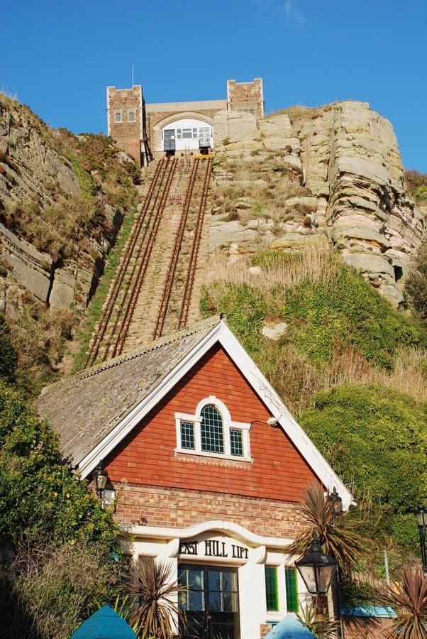 Levage est de côte, Hastings photos libres de droits
