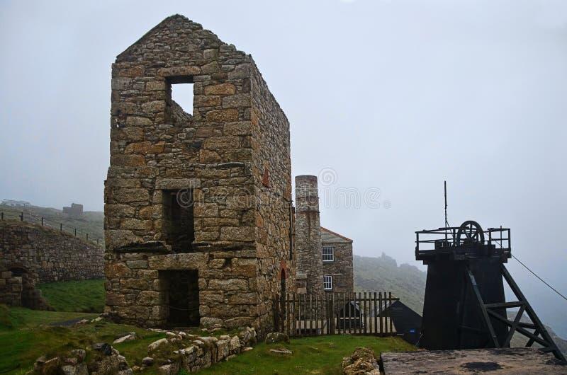 Levant Tin Mine 2 ~ Cornwall royaltyfria foton