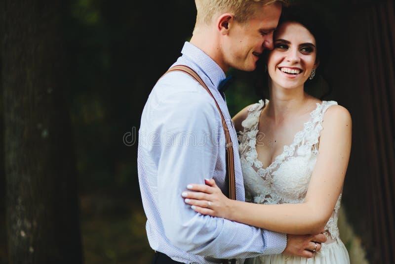 Download Levantamento Bonito Dos Pares Do Casamento Imagem de Stock - Imagem de verde, caucasiano: 65577059