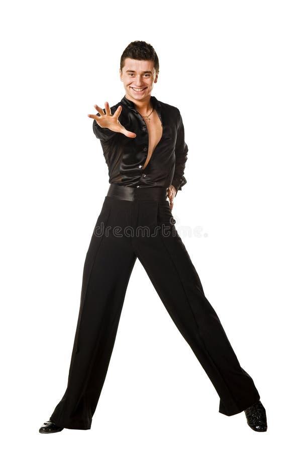Levantamento do dançarino do Latino fotografia de stock royalty free