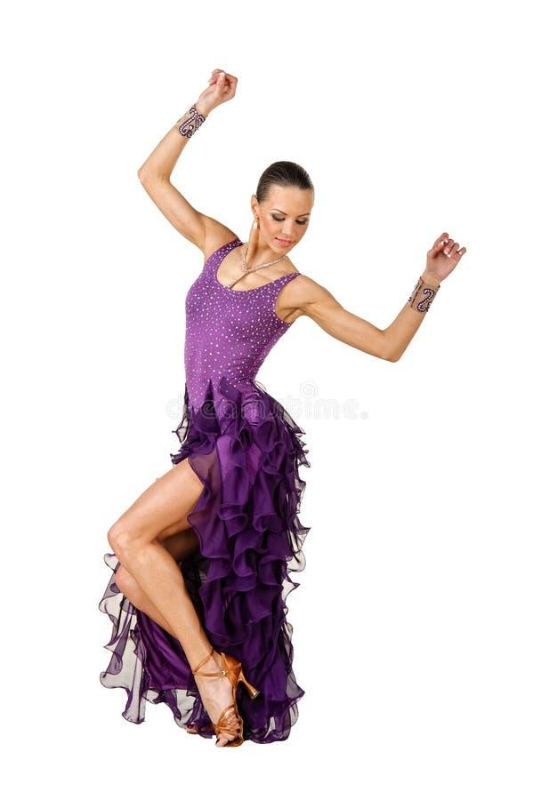 Levantamento do dançarino do Latino fotos de stock royalty free