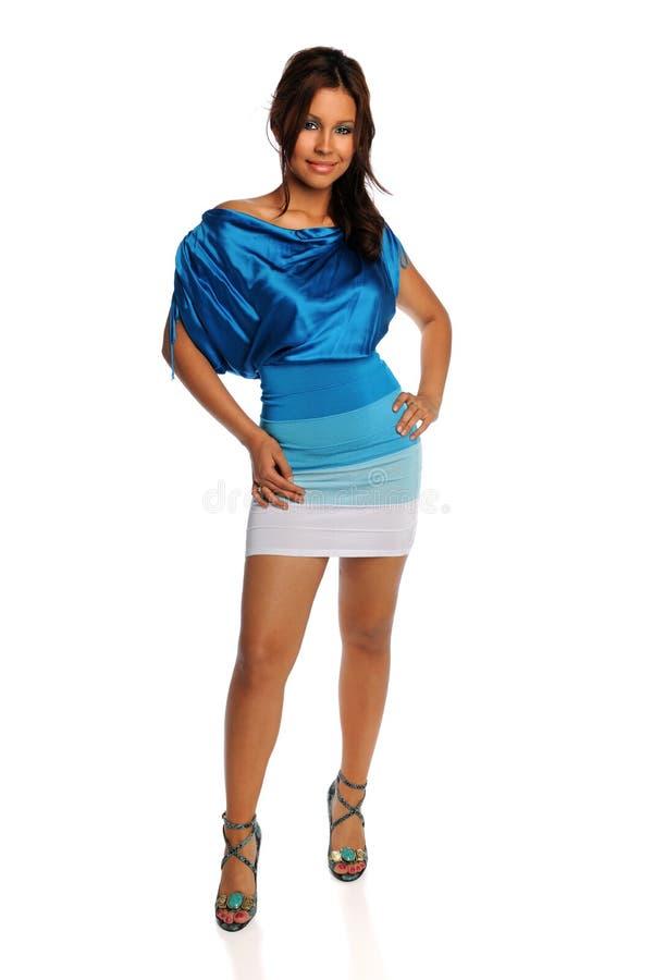 Levantamento latino-americano da mulher imagens de stock