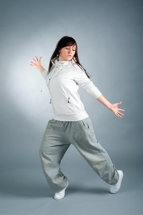 Levantamento moderno do dançarino do estilo fotos de stock royalty free