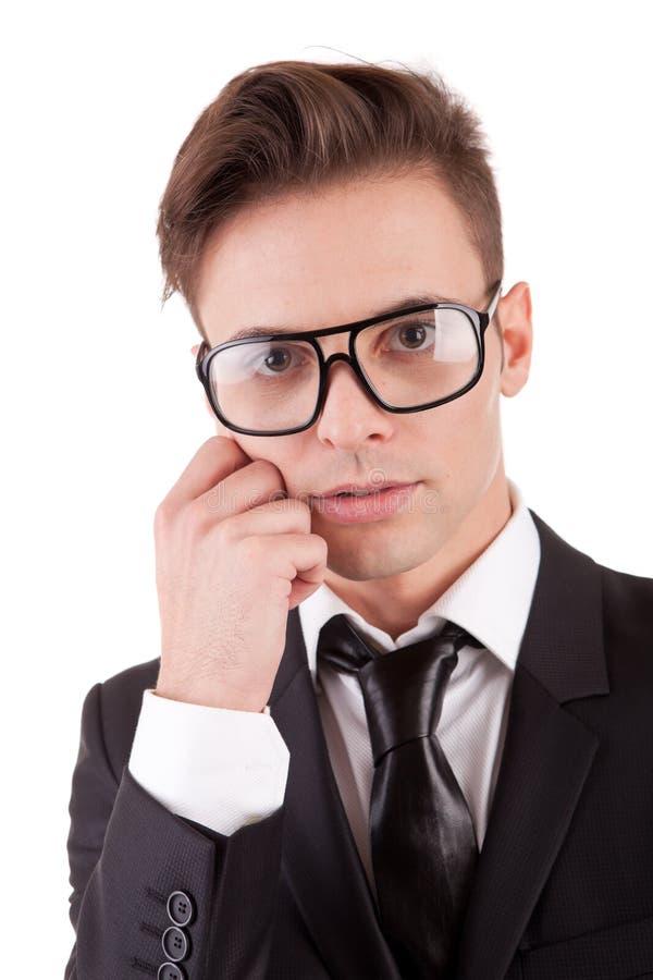 Download Levantamento Novo Do Homem De Negócio Imagem de Stock - Imagem de amigável, optimistic: 16871255