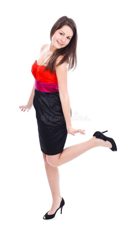 Levantamento 'sexy' da mulher fotografia de stock royalty free