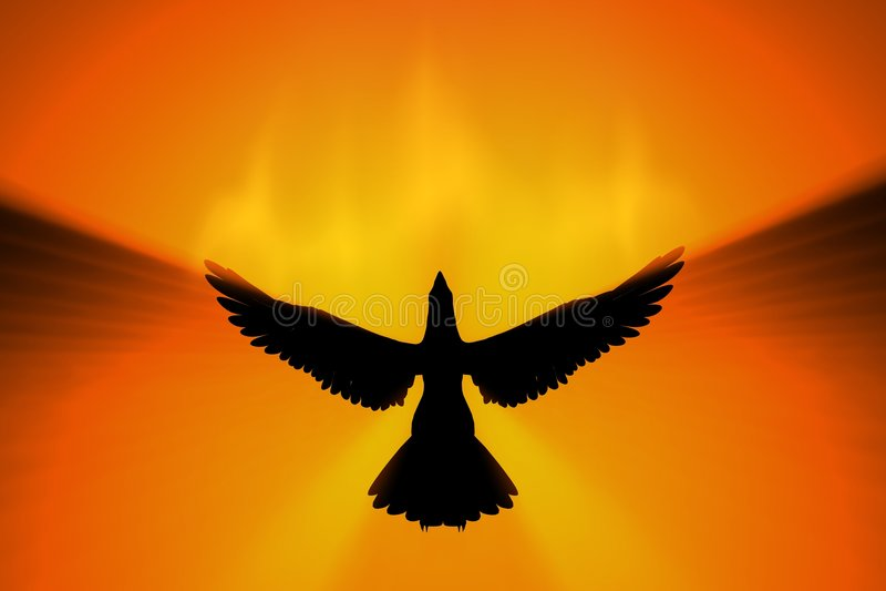 Levantamiento de Phoenix stock de ilustración