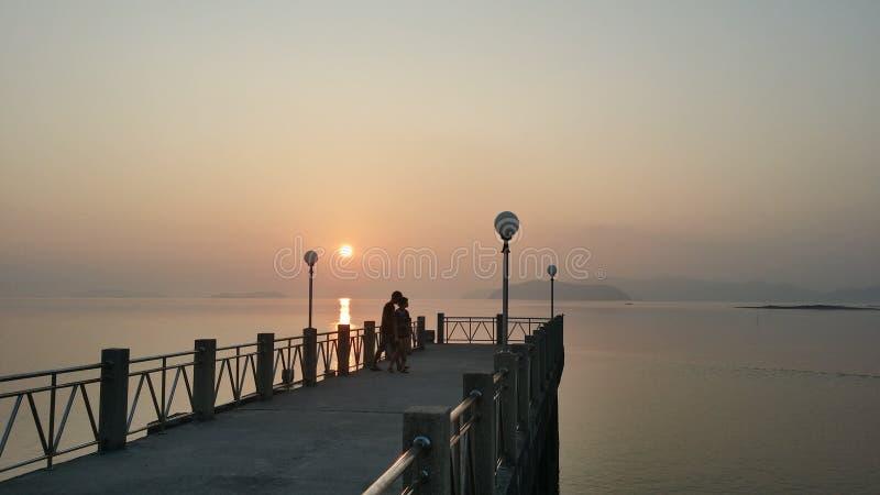 Levantamiento de Sun foto de archivo