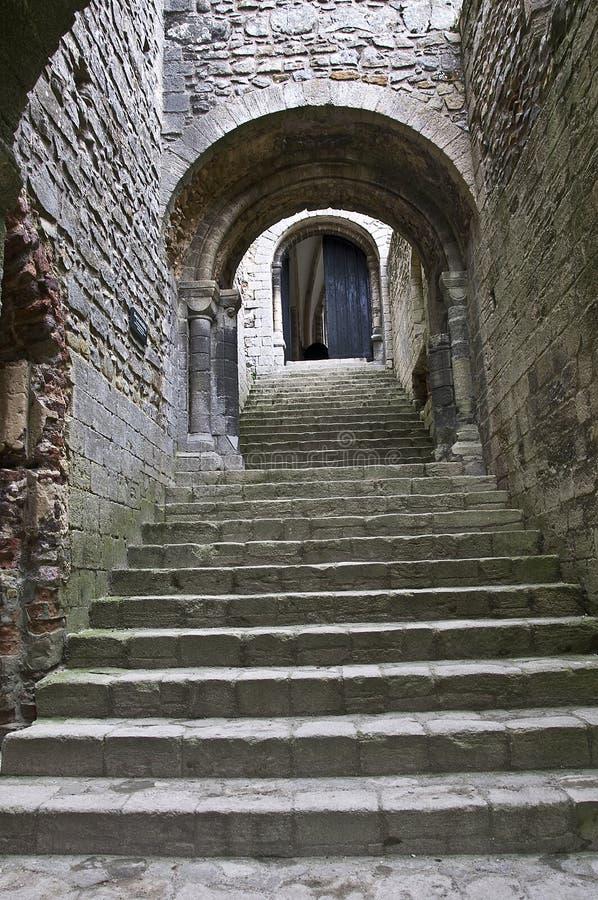 Levantamiento del castillo foto de archivo libre de regalías