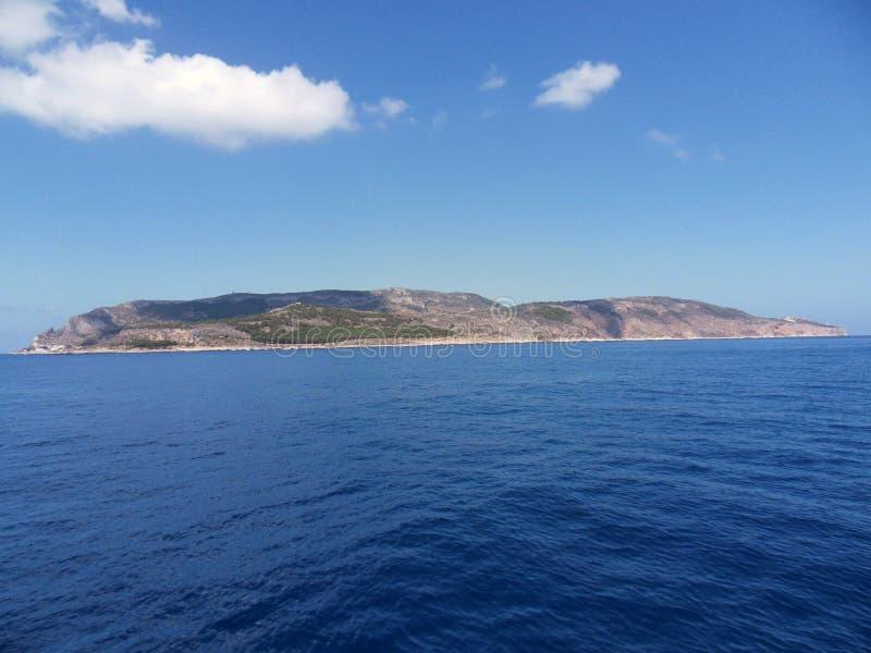 Levanzo-Insel stockfoto
