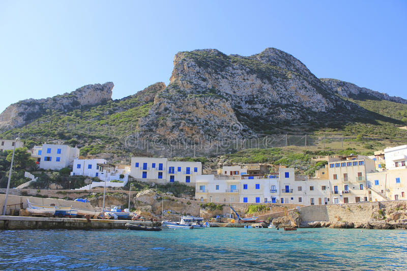 Levanzo island royalty free stock images