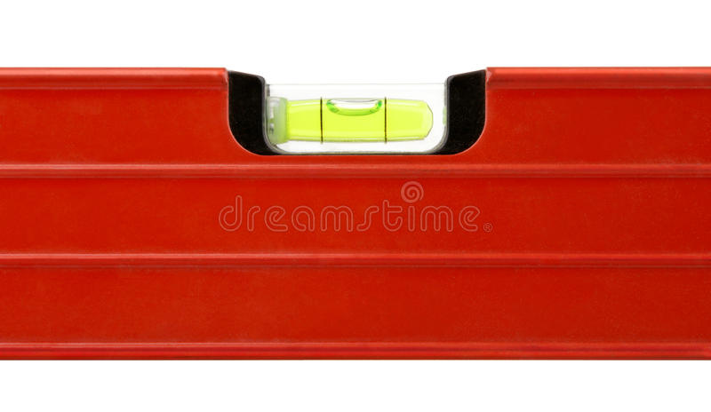 Level Building Red Tool Royalty Free Stock Image