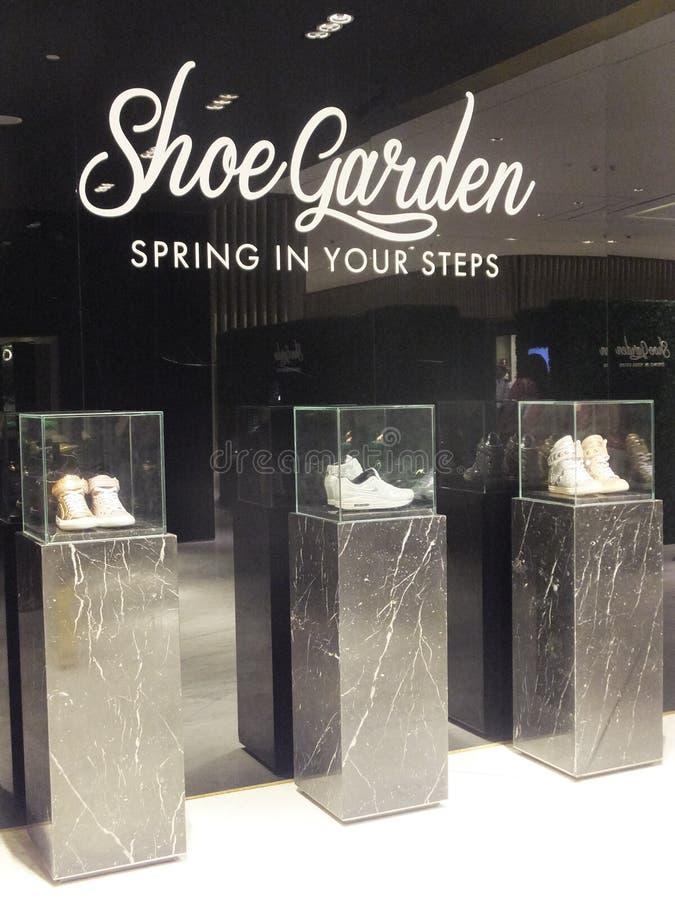 Level Shoe District at Dubai Mall in Dubai, UAE. Level Shoe District (Shoe Garden) at Dubai Mall in Dubai, UAE. The Dubai Mall is the world's largest shopping stock images