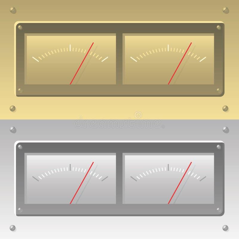 levelmeter wektora ilustracji