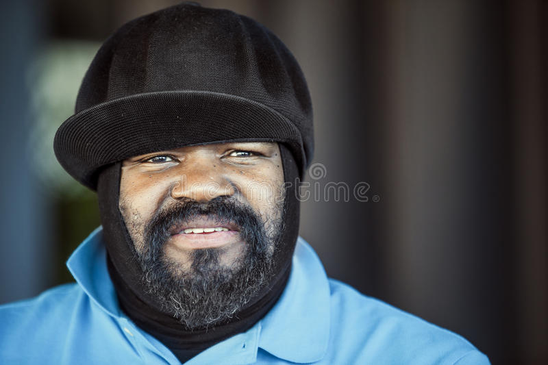 Levend Gregory Porter royalty-vrije stock afbeelding
