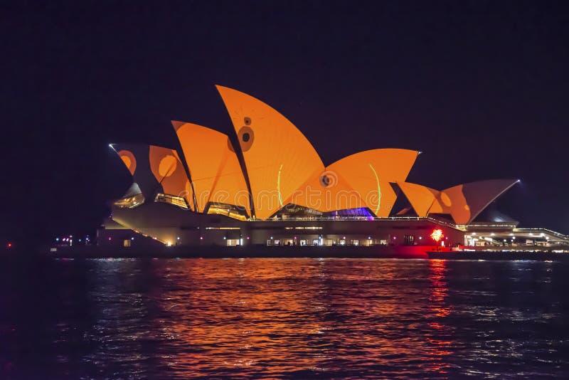 Levendig Festival, Sydney, Australië stock fotografie