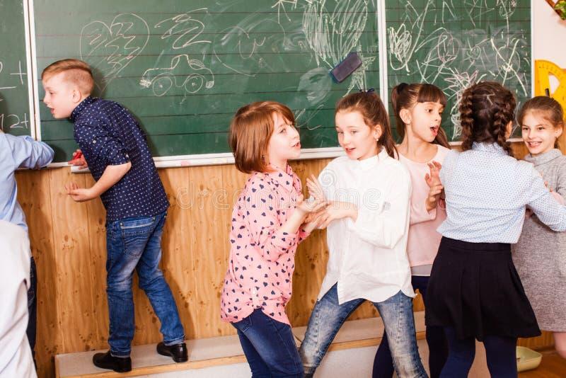 Levendig kinderen` s gesprek royalty-vrije stock afbeelding