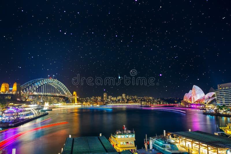 Levendig Sydney royalty-vrije stock afbeeldingen