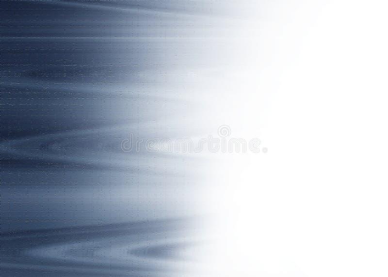 Levendig Teal Wave Background met exemplaar-Ruimte stock foto