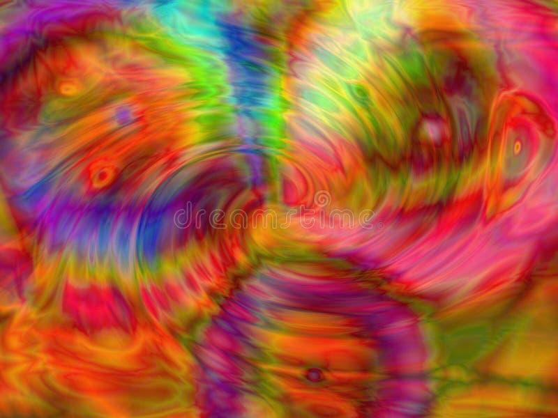 Levendige kleuren stock illustratie